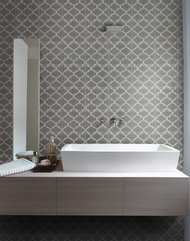 Trellis Pattern 20 X 20 X 1.6 Cm 25 Tiles Per M2 Sealing Is Recommended