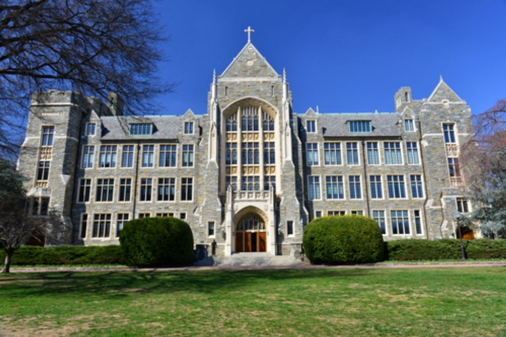 Georgetown application essays double spaced