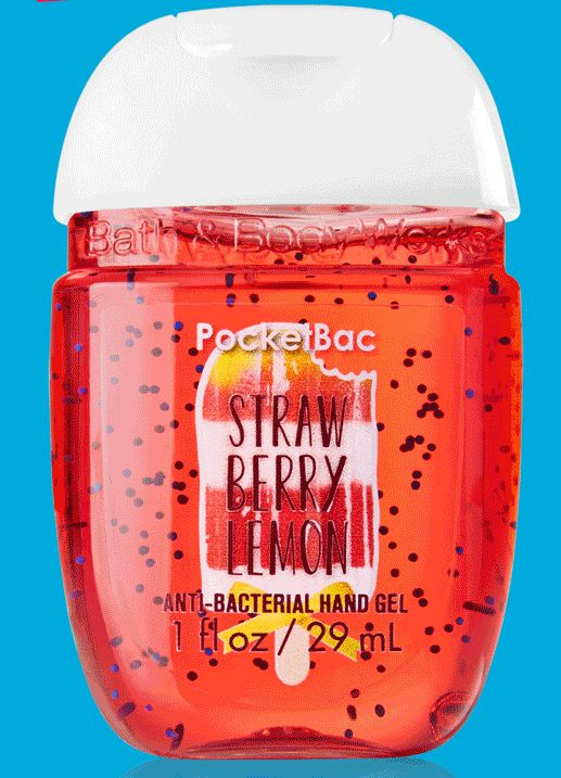 Bath Body Works Pocketbac Anti Bacterial Gel Gets A New Look For