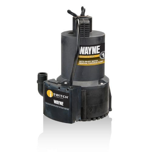 Wayne Eeaup250 1 4 Hp Automatic On Off Electric Water Removal Pump Utility Pumps Electric Water Pump Submersible Utility Pump