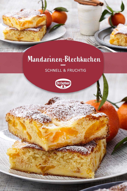 Photo of Mandarinen-Blechkuchen