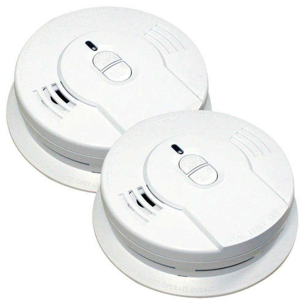 Kidde Code One 10 Year Sealed Battery Smoke Detector With Ionization Sensor 2 Pack In 2020 Smoke Alarms Smoke Detector Battery Operated
