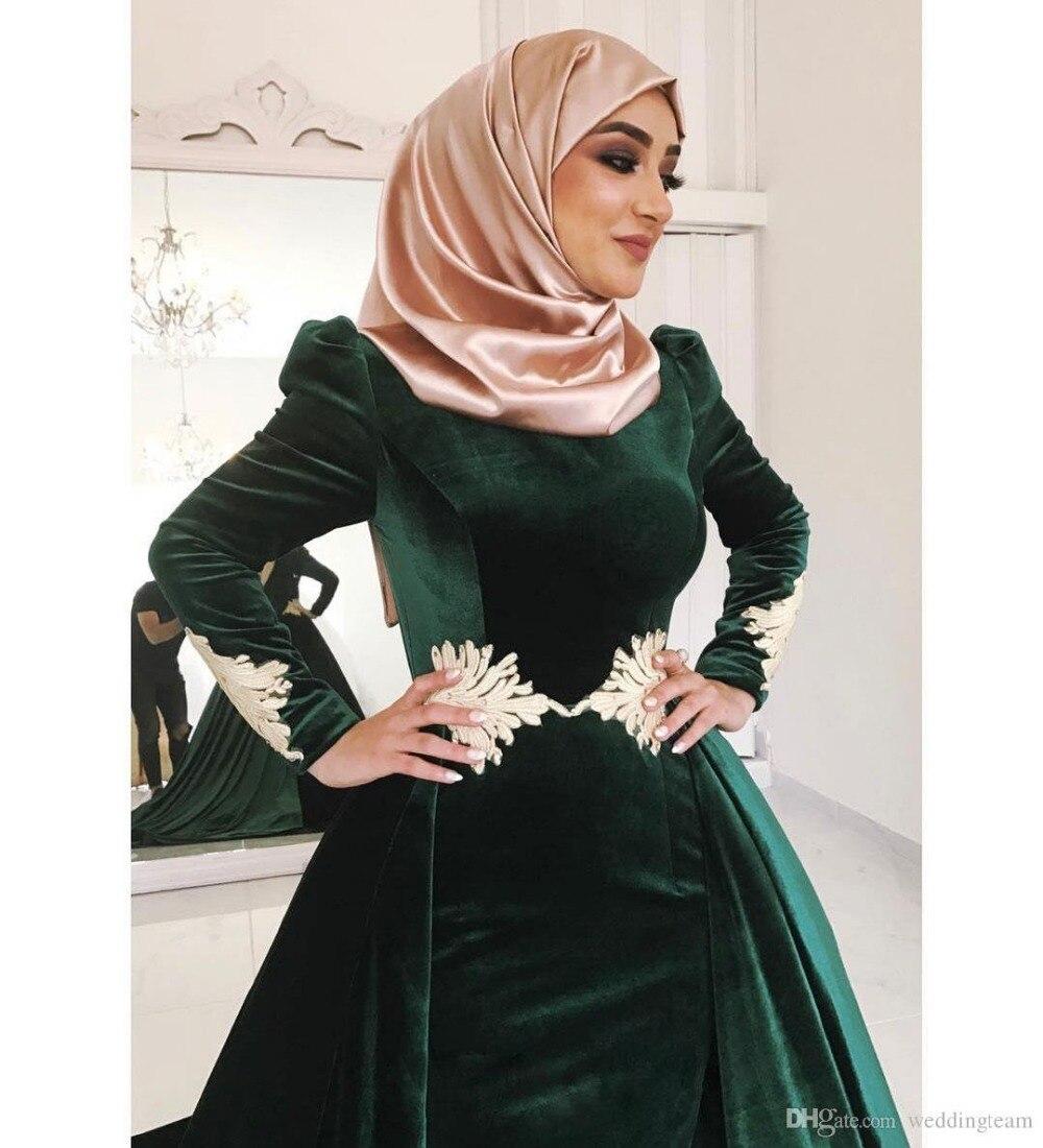Caftan Velours Vert Emeraude Robe En Velours Robe Soiree Mariage Idees Vestimentaires