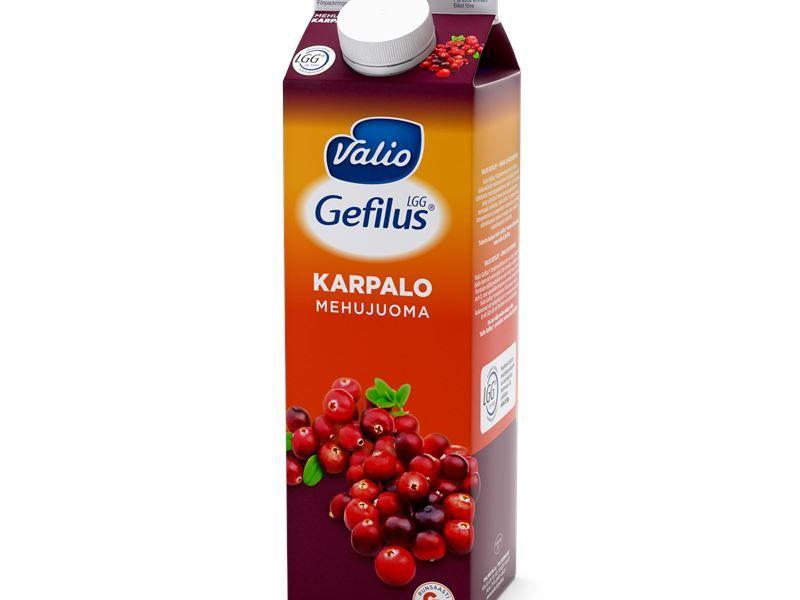 Gefilus, cranberry juice, Valio, Finnish Company