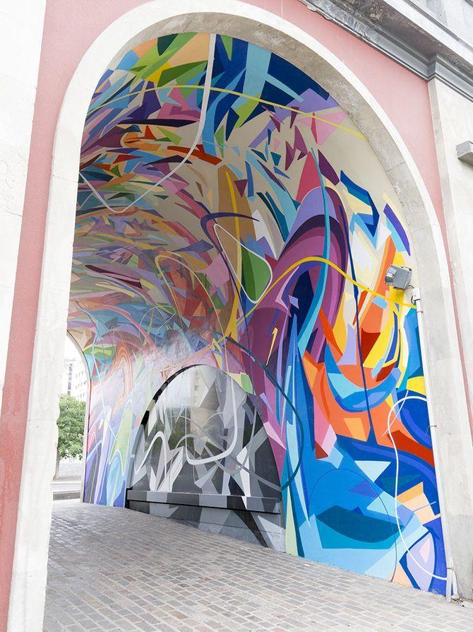 0f316766d Esempi di arte contemporanea di strada e arte Grafica Sui muri Street Art -  Murales - Graffiti.