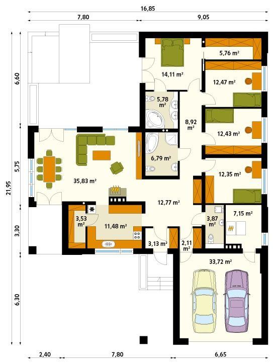 Projekty Sypialni Z Garderobą I łazienką Szukaj W Google