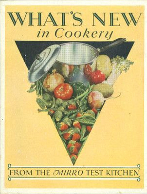 Vintage Cook Booklet -Solfcover -What New In cookery Aluminum Goods Mfg. 1929
