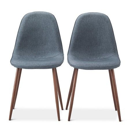 Porter Mid Century Modern Dining Chairs Set Of 2 Target Modern
