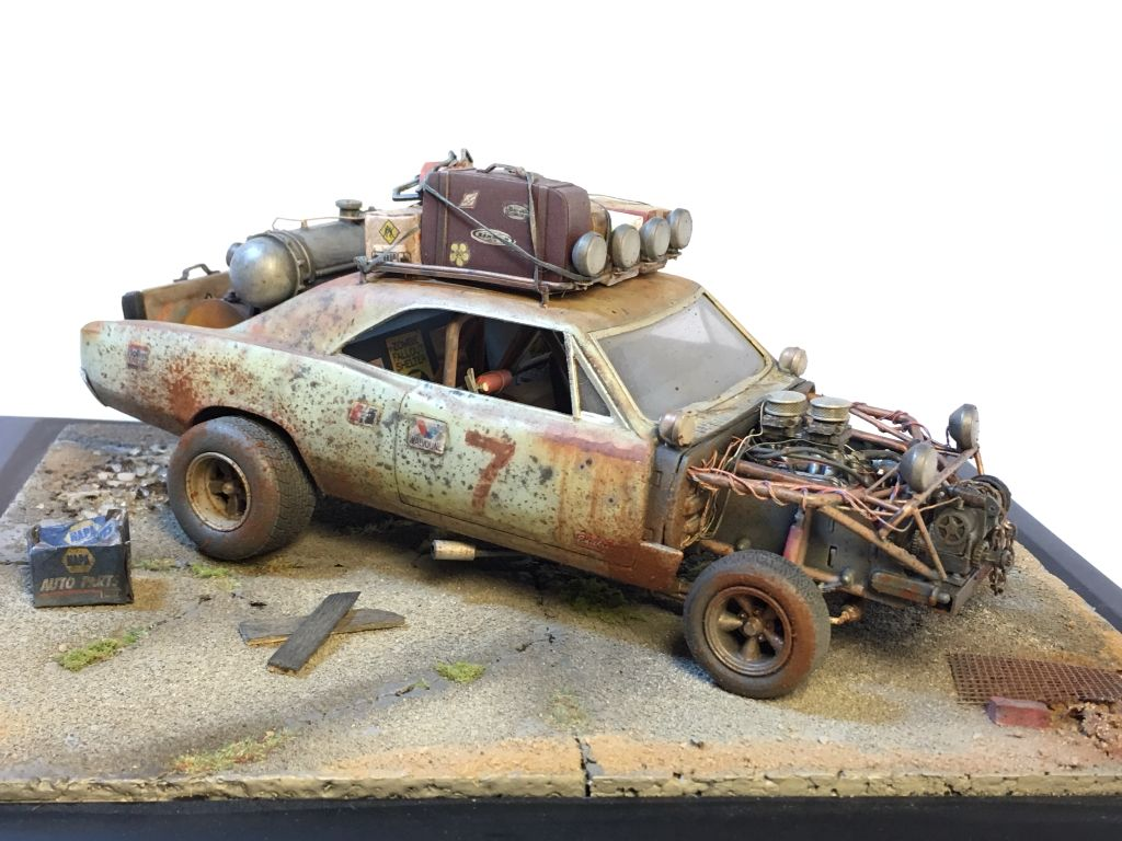 Road Warrior Chevelle Scale Model by CT Model cars