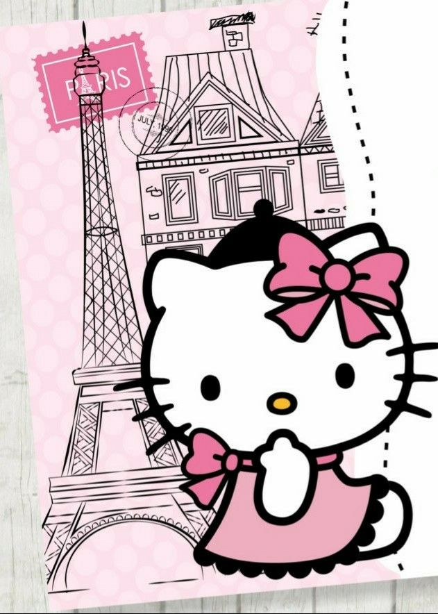 Hello Kitty Paris Kittys Fondos De Hello Kitty
