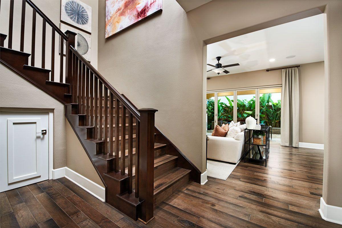Best Mission Style Stair Railing Sebastian Model Home 400 x 300