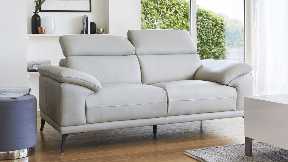 Siena 2 Seater Leather Sofa Real Leather Sofas Leather Sofa Living Room Sofa