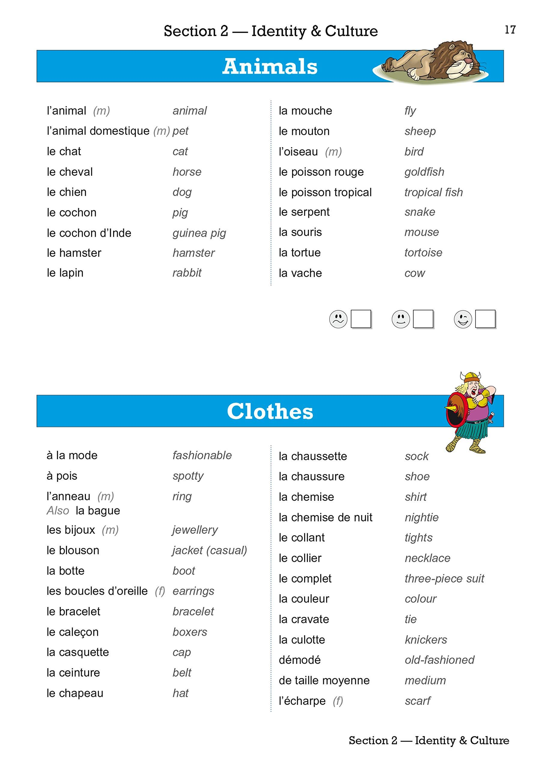 small resolution of New GCSE French Vocab Book - for the Grade 9-1 Course: 9781782948612:  Amazon.com: Books   Gcse french