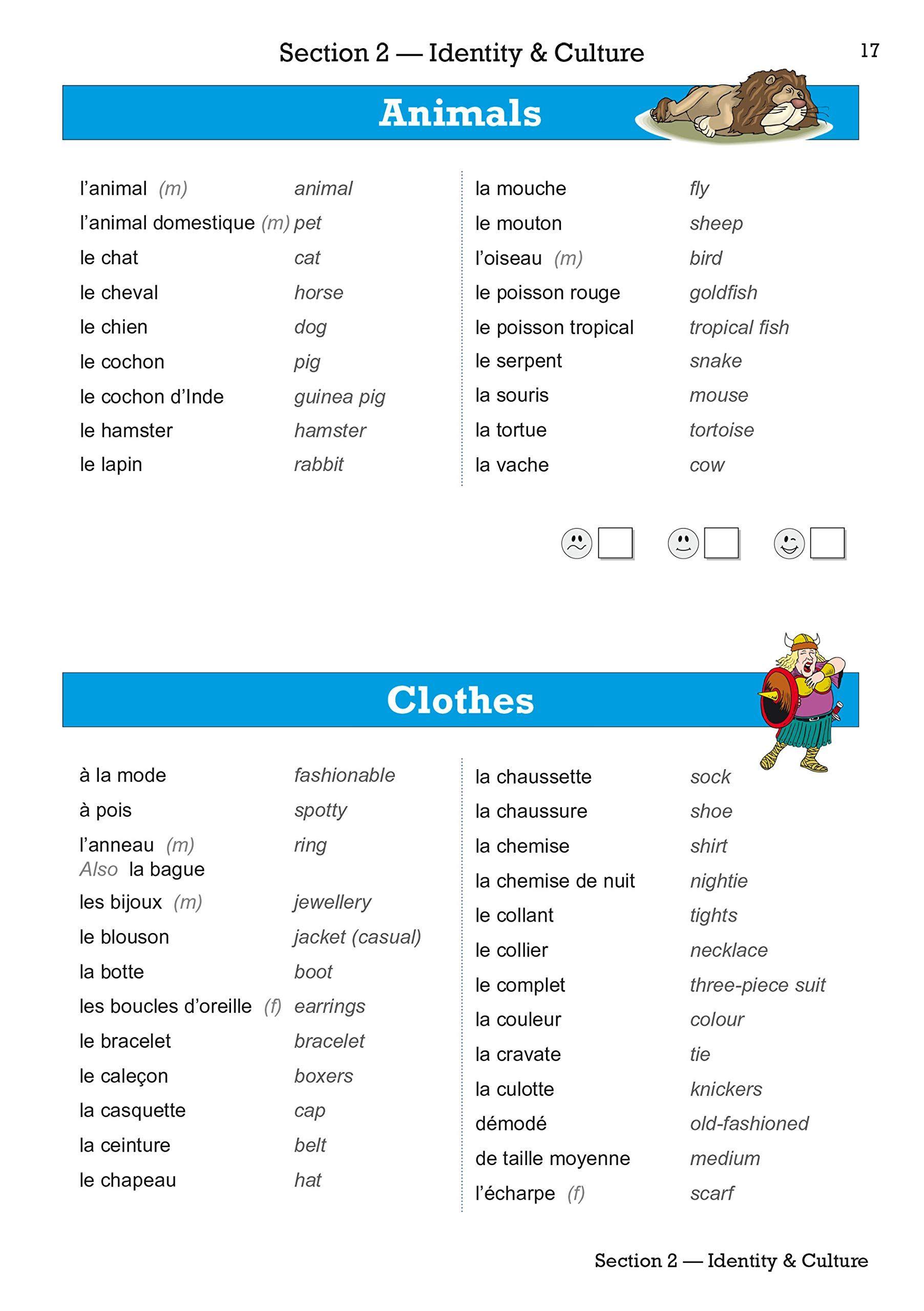 New Gcse French Vocab Book For The Grade 9 1 Course 9781782948612 Amazon Com Books Gcse French Learn French French Vocabulary