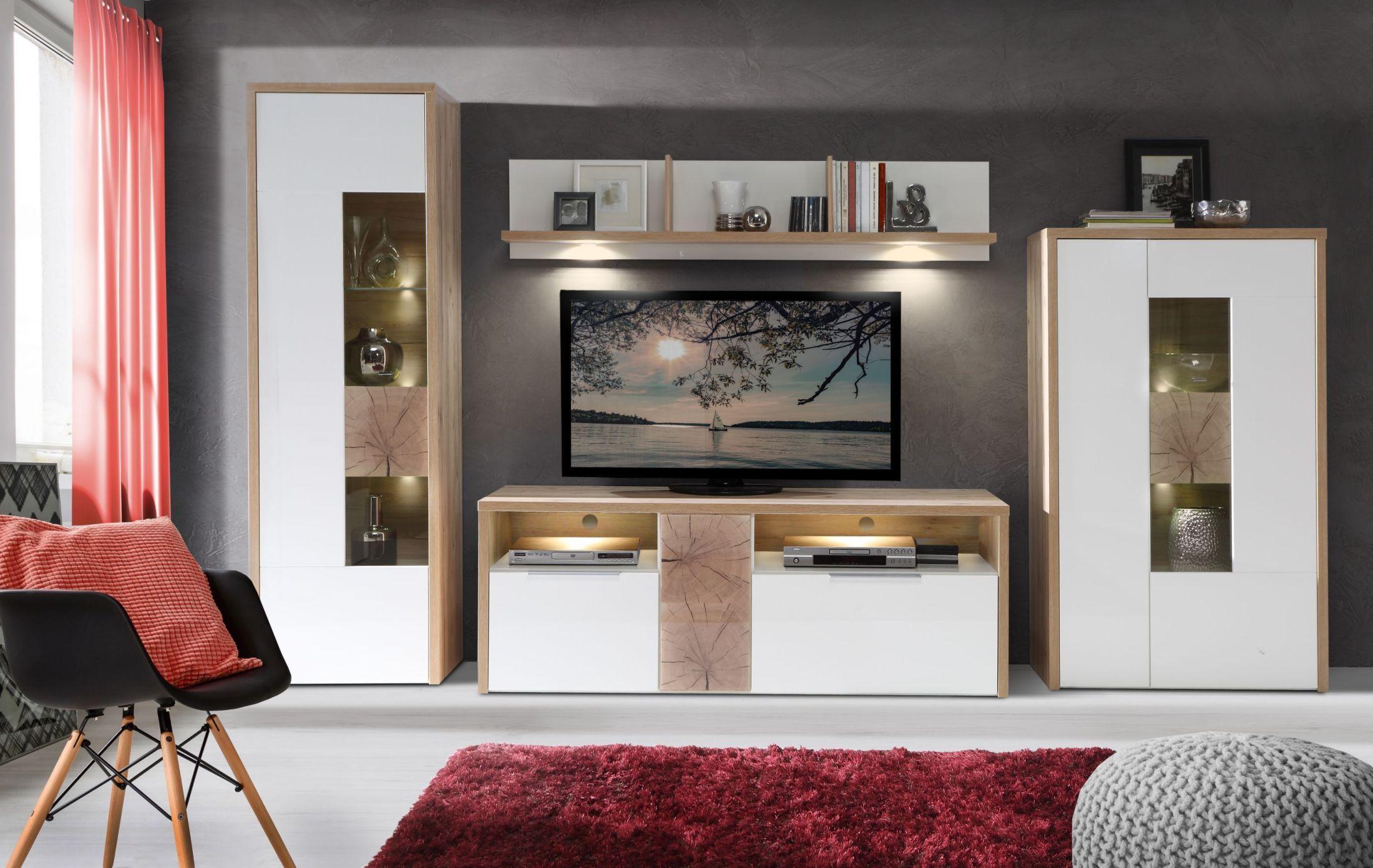 Frisch Wohnzimmer Holz Modern Schema