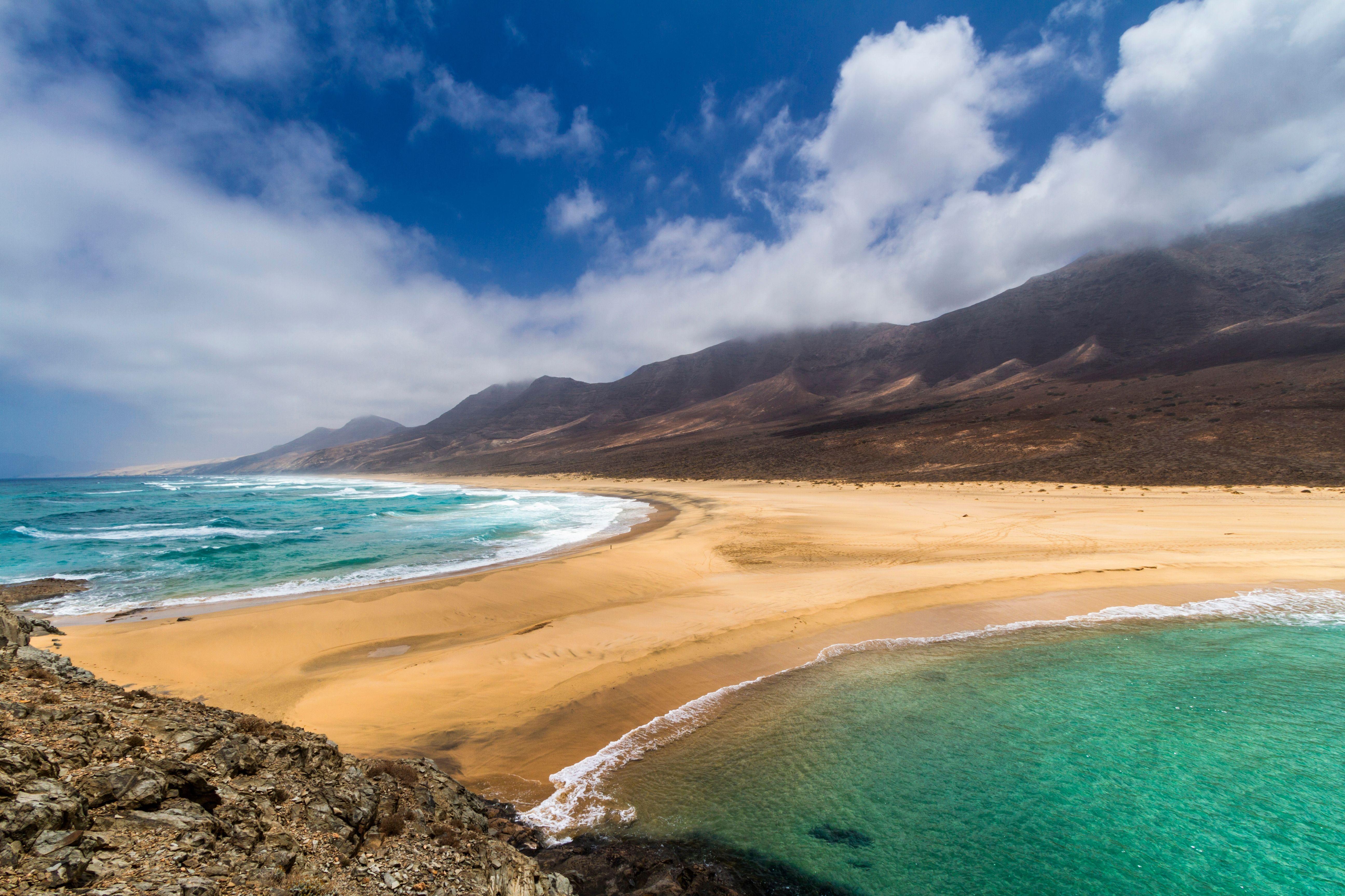 Cofete en Fuerteventura IslasCanarias Isla de
