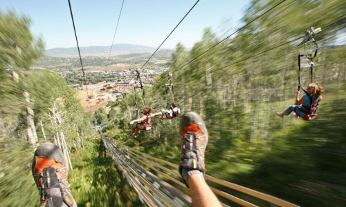 Riding the zipline at park city mountain resort in utah this was riding the zipline at park city mountain resort in utah this was so exciting and sciox Gallery
