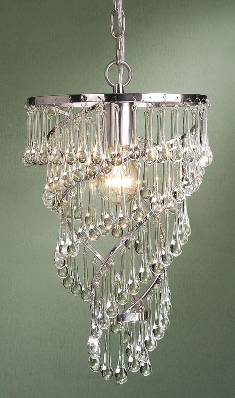 Bellina 1 Light Mini Pendant Chandelier by Laura Ashley PXX122