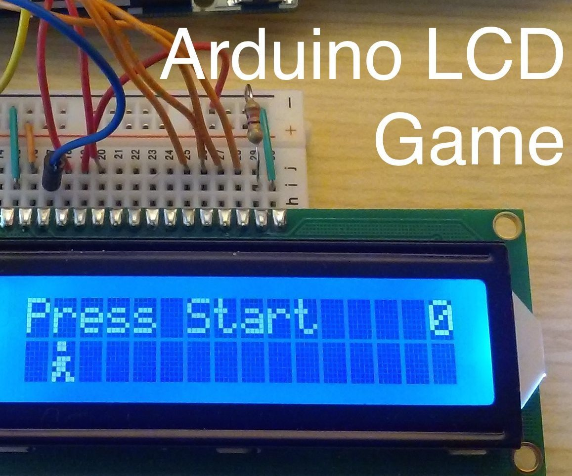 Arduino Lcd Game Arduino Visual Arduino Arduino Lcd