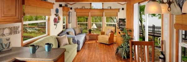 Lakeside Series Ivory Exterior - Living Room