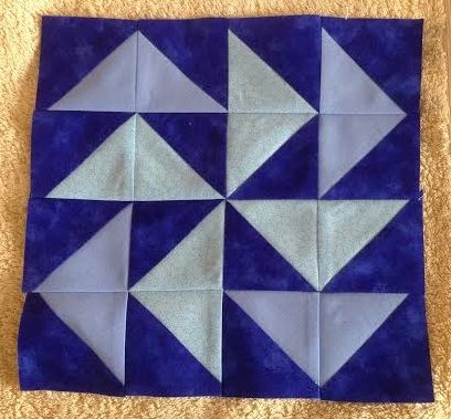 Half Square Triangle Jelly Roll Quilt Challenge Dutchmans Puzzle