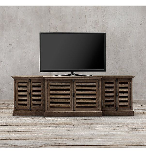 Shutter Media Console | furniture | Pinterest | Consoles and ...