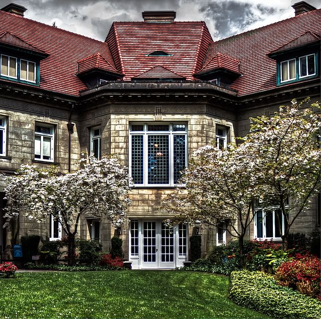 Beautiful Places In Portland Oregon: Pittock Mansion