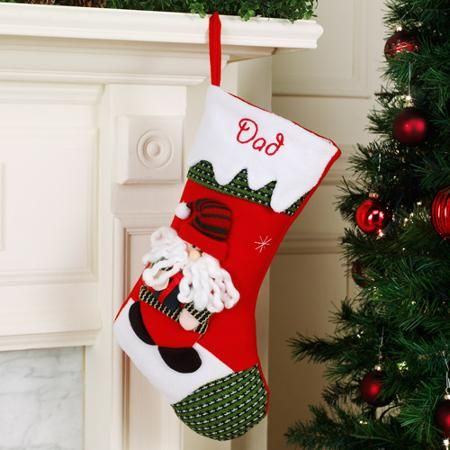 personalized snow cap christmas stocking available in 11 designs walmart com - Christmas Stockings Walmart