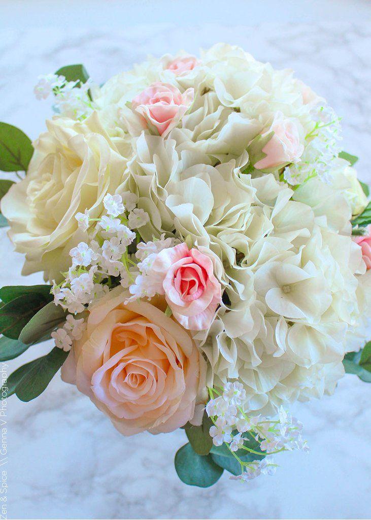 Open Rose Spray in Cream 20\