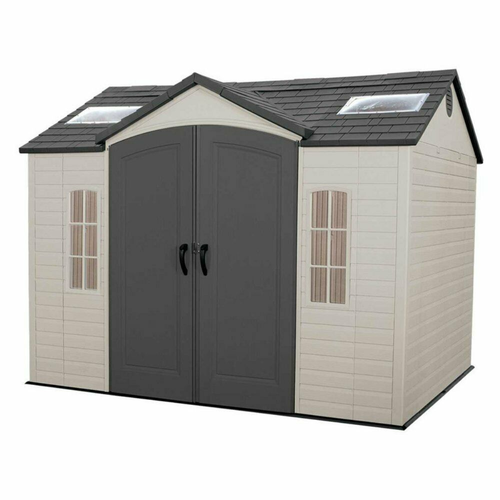 Details About Lifetime Outdoor 10 X 8 Ft Storage Shed Outdoor Storage Sheds Garden Storage Shed Shed Homes