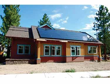 Wow a stock home actually designed for Net Zero energy use