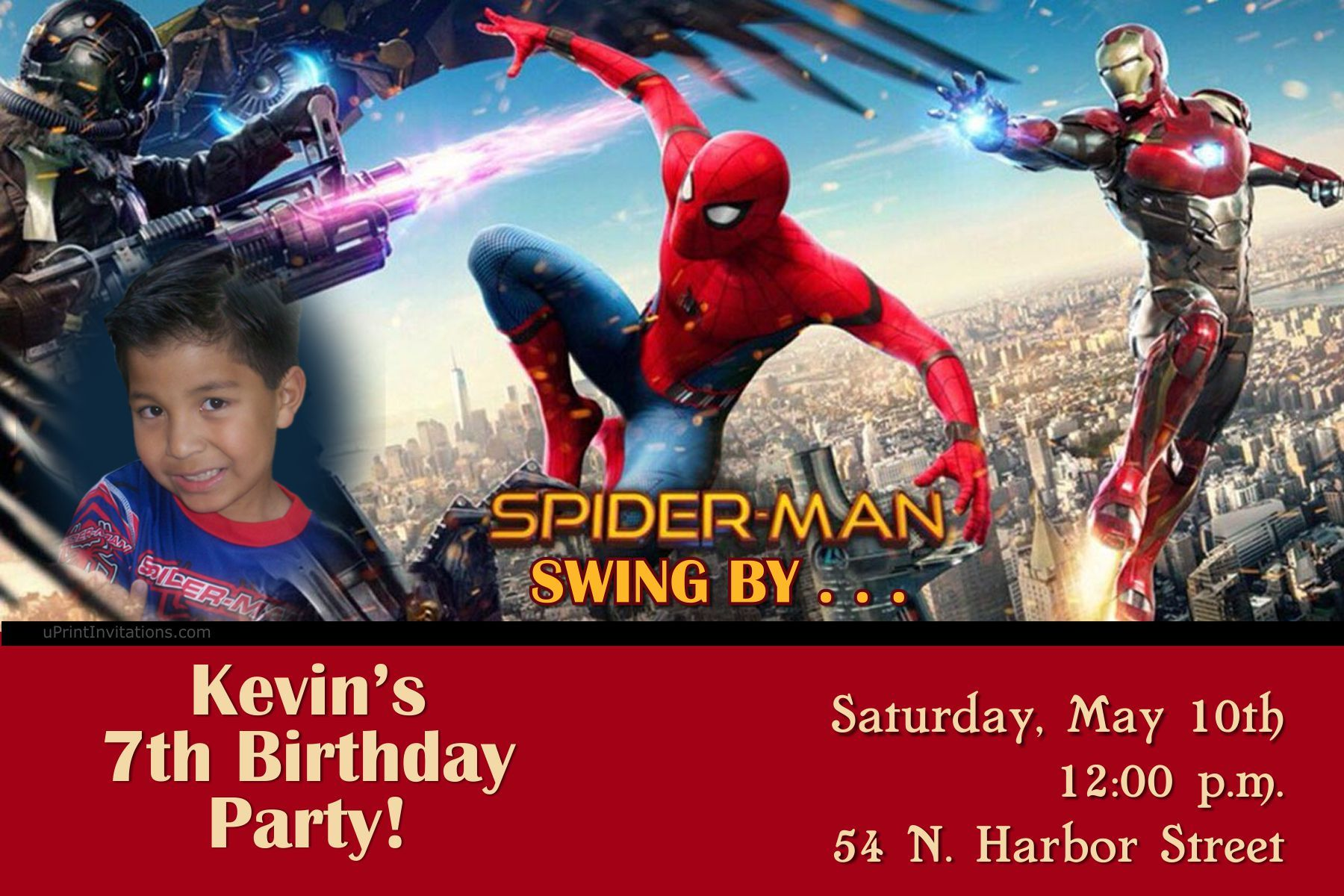 Spiderman homecoming birthday invitations digital download get spiderman homecoming birthday invitations digital download get these invitations right now design yourself solutioingenieria Gallery