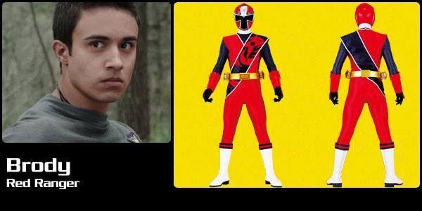 Brody Red Ninja Steel Ranger Power Rangers Power Rangers