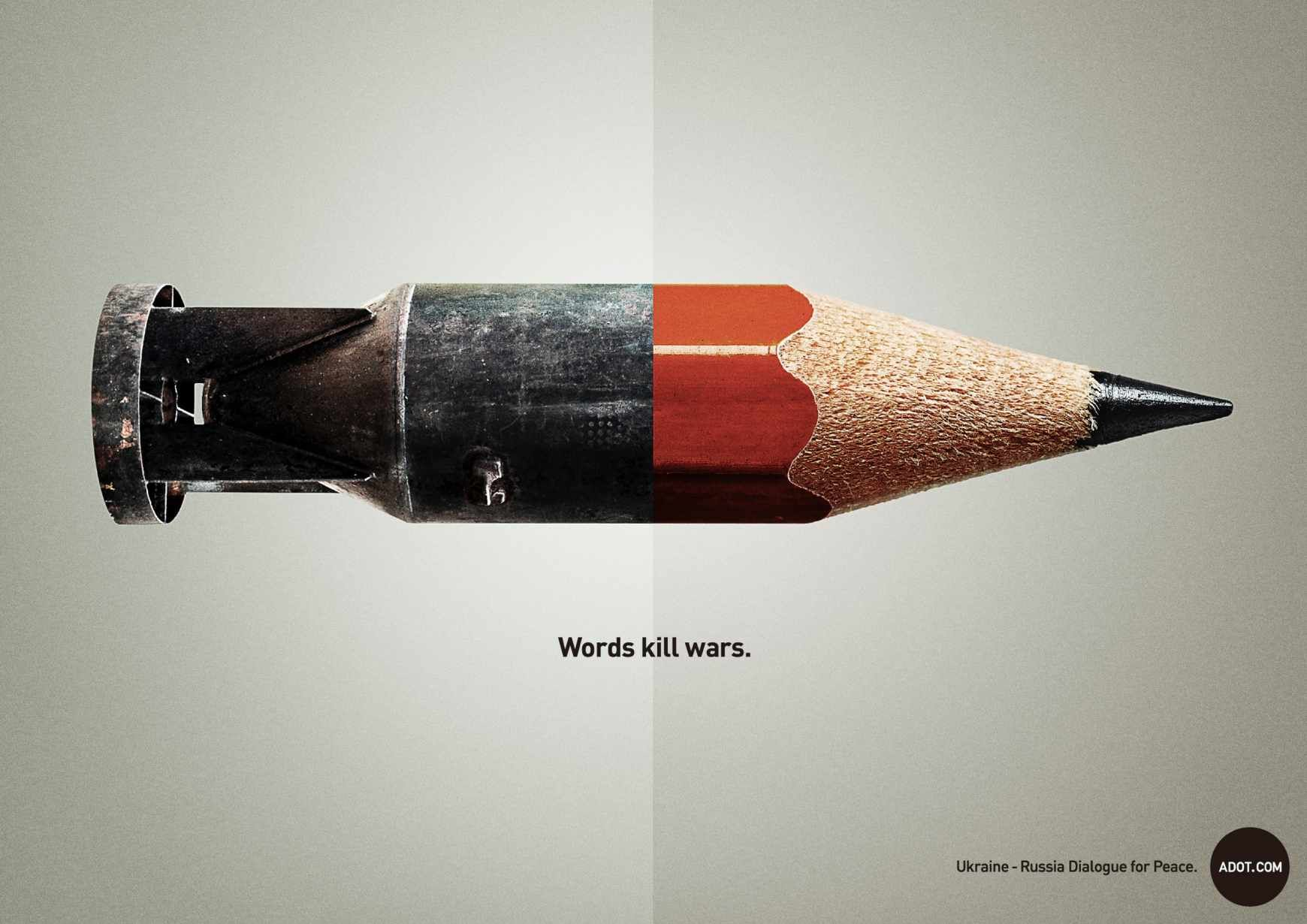 Adot Against Wars Campaign | /open | Clever advertising ...
