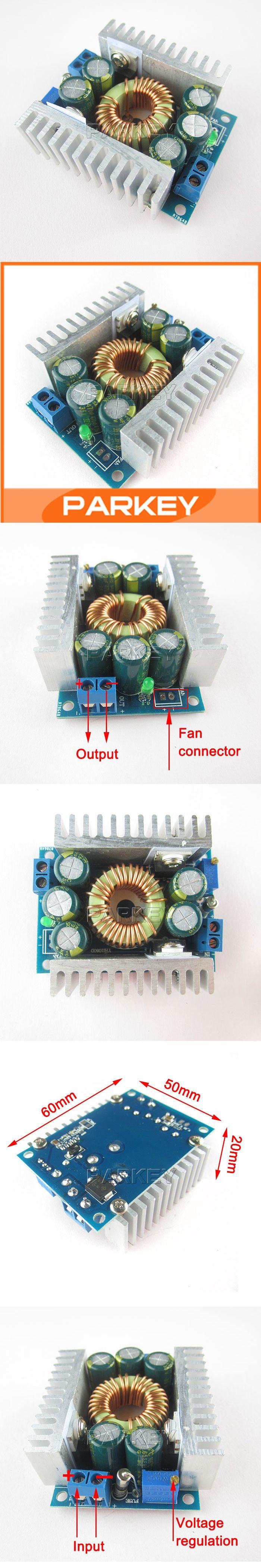 Dc Buck Converter 45 30v To 08 12a Diy Adjustable Regulators High Power