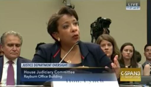 Media wants all eyes on Obama, because LOOK what happened as House reps GRILLED AG Lynch today
