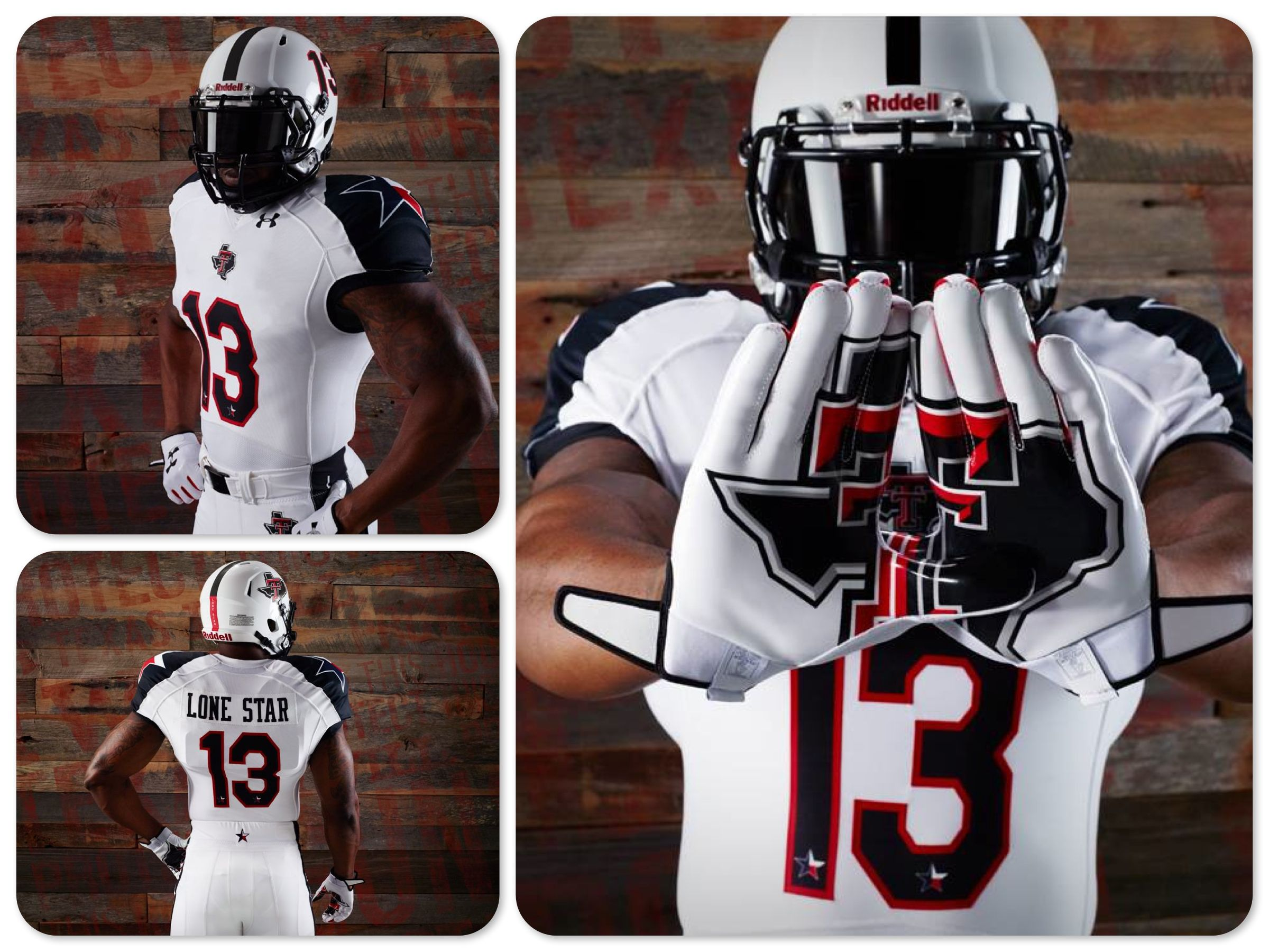 Texas Tech Lone Star Pride Uniforms for Thanksgiving Day