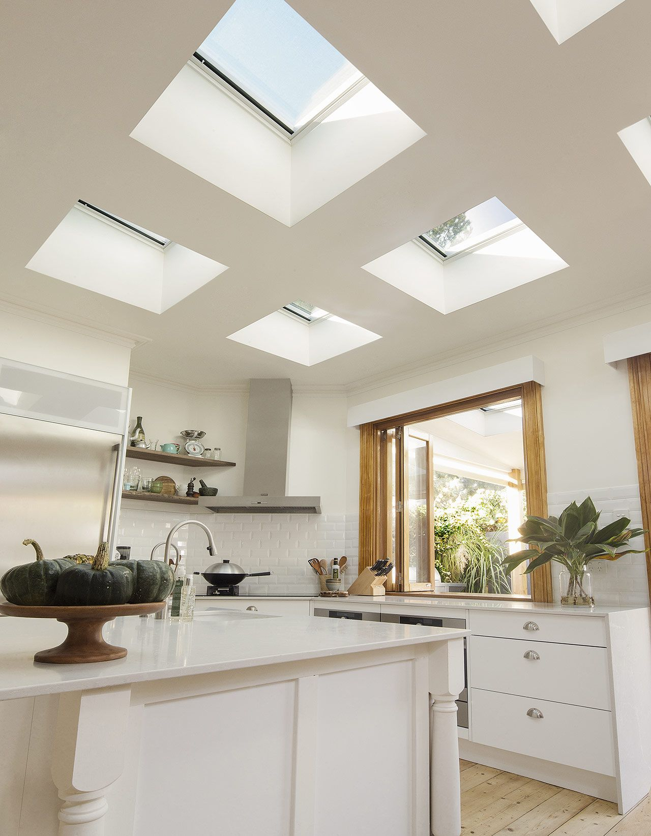 VELUX skylights will have a huge impact on your kitchen extension ...