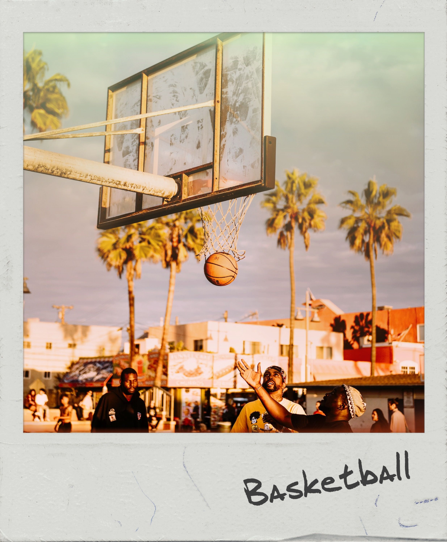 Basketball 🏀 #PolaroidFx #Polaroid #Frame #Instant #Sports