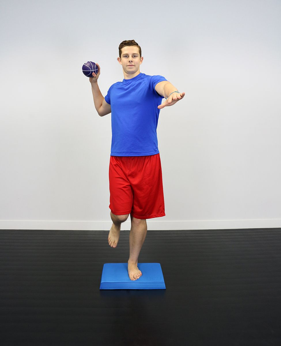 Balance Board Exercises For Back: The CanDo ArmaSport Balance Pad Is Ideal For Vestibular