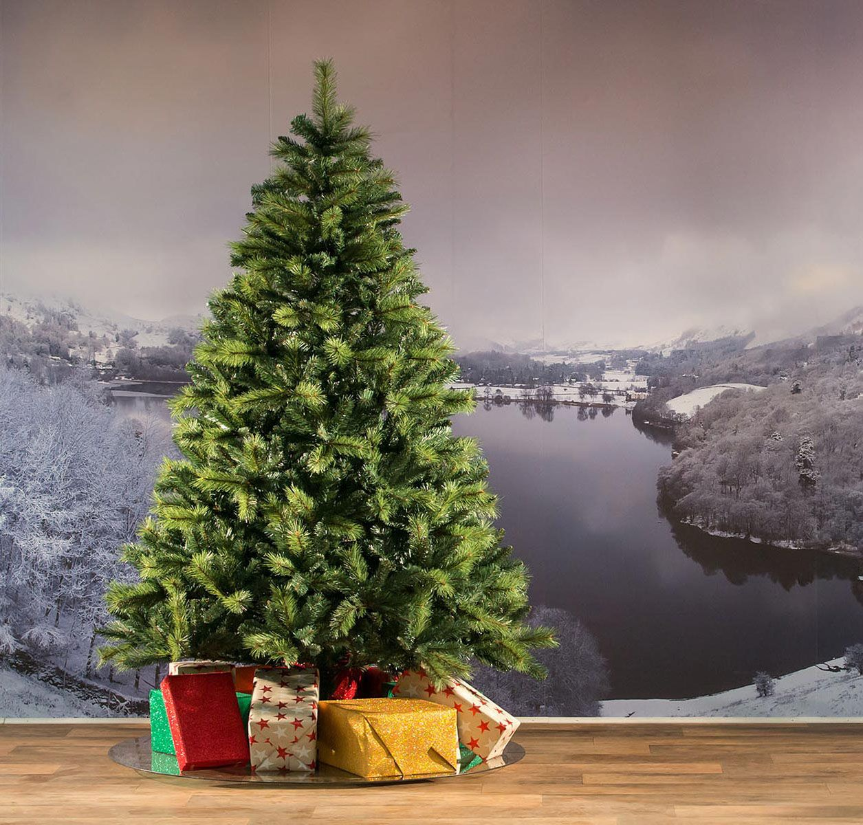 7ft boulder pine artificial christmas tree - 7ft Artificial Christmas Tree