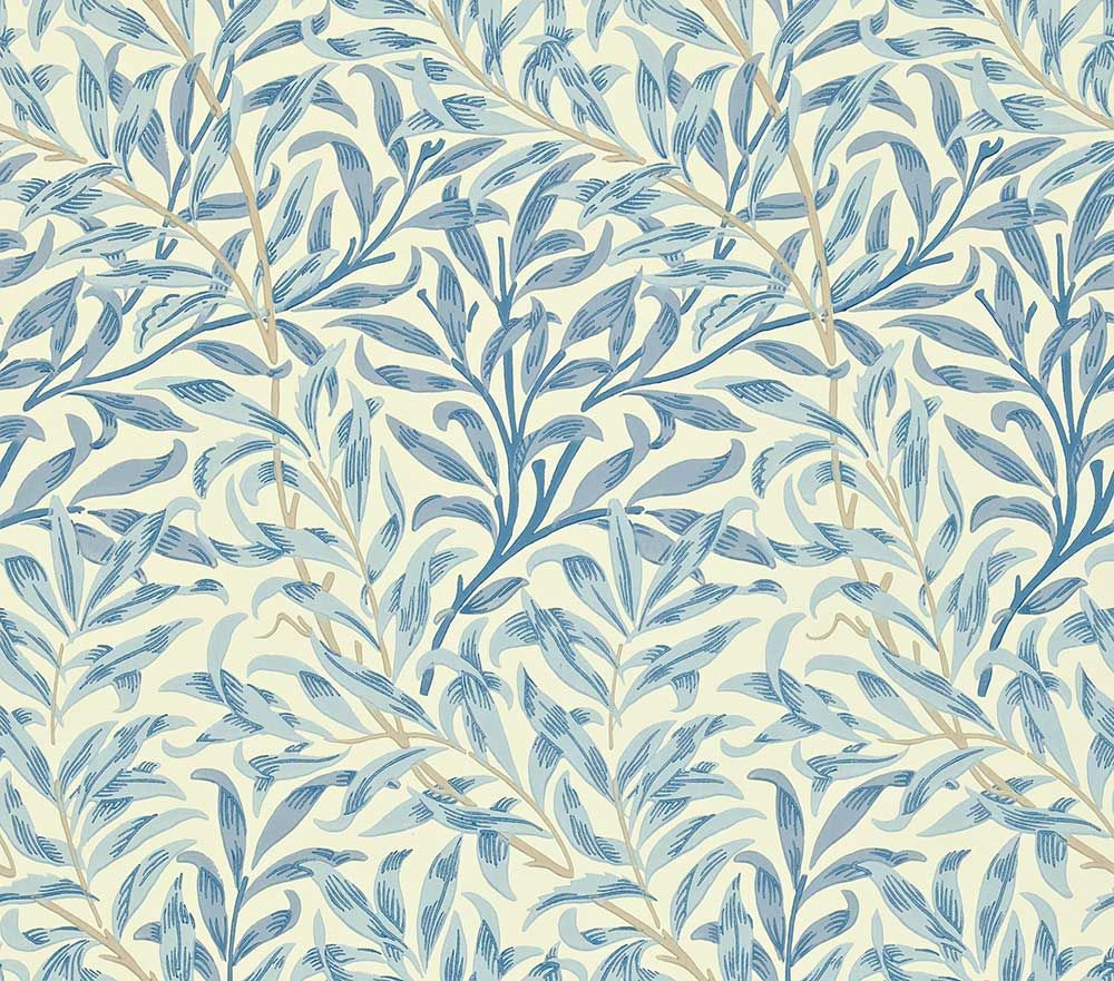 Willow Boughs by Morris Blue Wallpaper WM7614/4