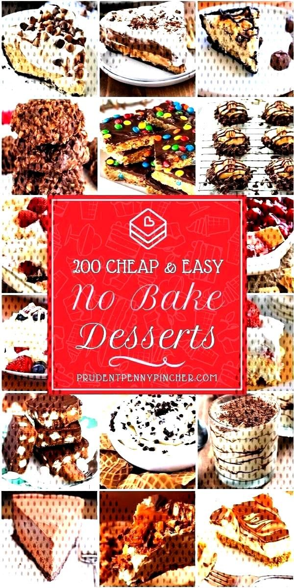 200 Cheap and Easy No Bake Desserts bake Desserts 200 Chea...