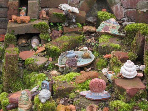 Steine Als Nisthilfen Steinhaufen Naturgarten Steingarten Gestalten Garten