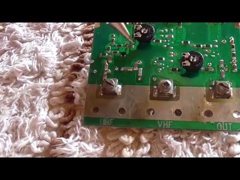 Masthead Amplifier UHF type - Tronnixx in Stock - http://www.amazon.com/dp/B015MQEF2K - http://audio.tronnixx.com/uncategorized/masthead-amplifier-uhf-type/