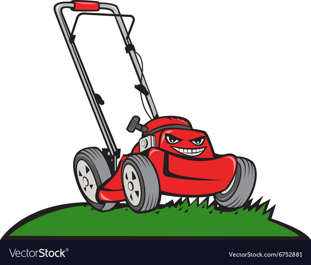 Pin By Juanita E On Laminas Lawn Mower Cartoon Vector Free