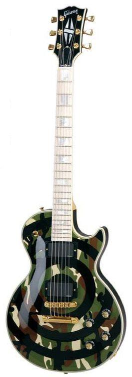 gibson les paul zakk wylde camo s k p google les pauls zakk wylde fender guitars guitar. Black Bedroom Furniture Sets. Home Design Ideas