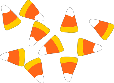 Corn Candy Colored Images Candy Corn Paper Crafts Halloween Clipart