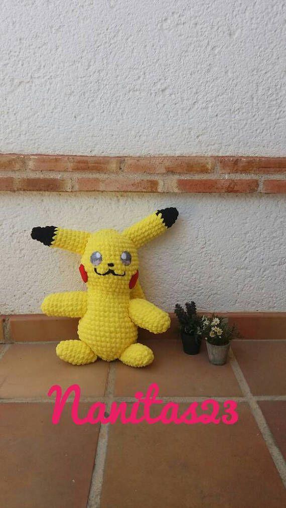 Items similar to Pikachu,Crochet Pikachu,Amigurumi Pikachu ... | 1012x570