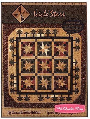 Icicle Stars Quilt Pattern Kansas Troubles Quilters #KT